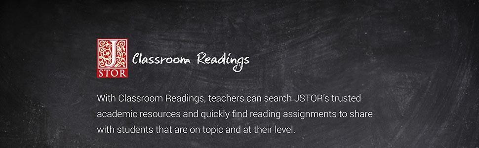 Helping Teachers Find Reading Assignments